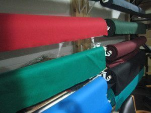 Pool table refelting process in Wichita, Kansas
