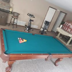 Brunswick Contender Pool Table (SOLD)