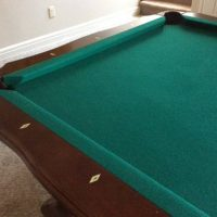 8ft Pool Table With Lots Of Accessories Included