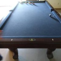 Billard Cherry Oak Pool Table