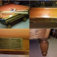 8-Foot Pool Table, Excellent Condition