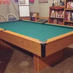 Pool Table 8 FT with portable Ping Pong Table Top